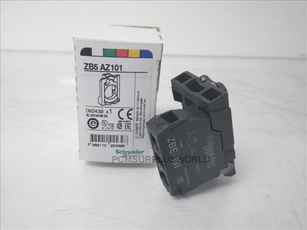ZB5AZ101 Schneider Electric switch contact block 10A pushbutton ...