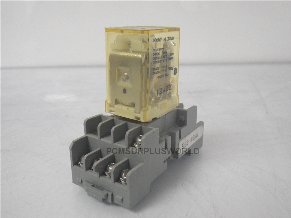 RY4S UL Idec cube relay with base plug SY4S 05 Used and Tested 1 idec ry4s relay wiring diagram wiring diagrams Basic Electrical Wiring Diagrams at bakdesigns.co