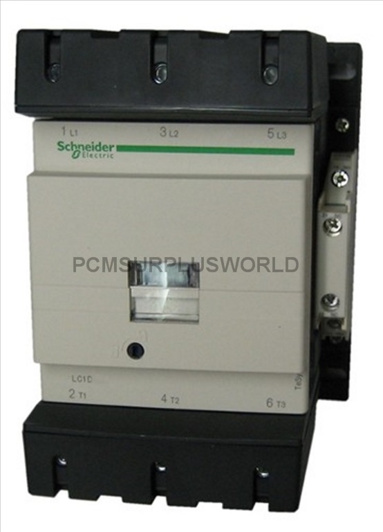 New Square D Schneider Electric LC1D18G7 Contactor 120VAC Coil 3 Pole