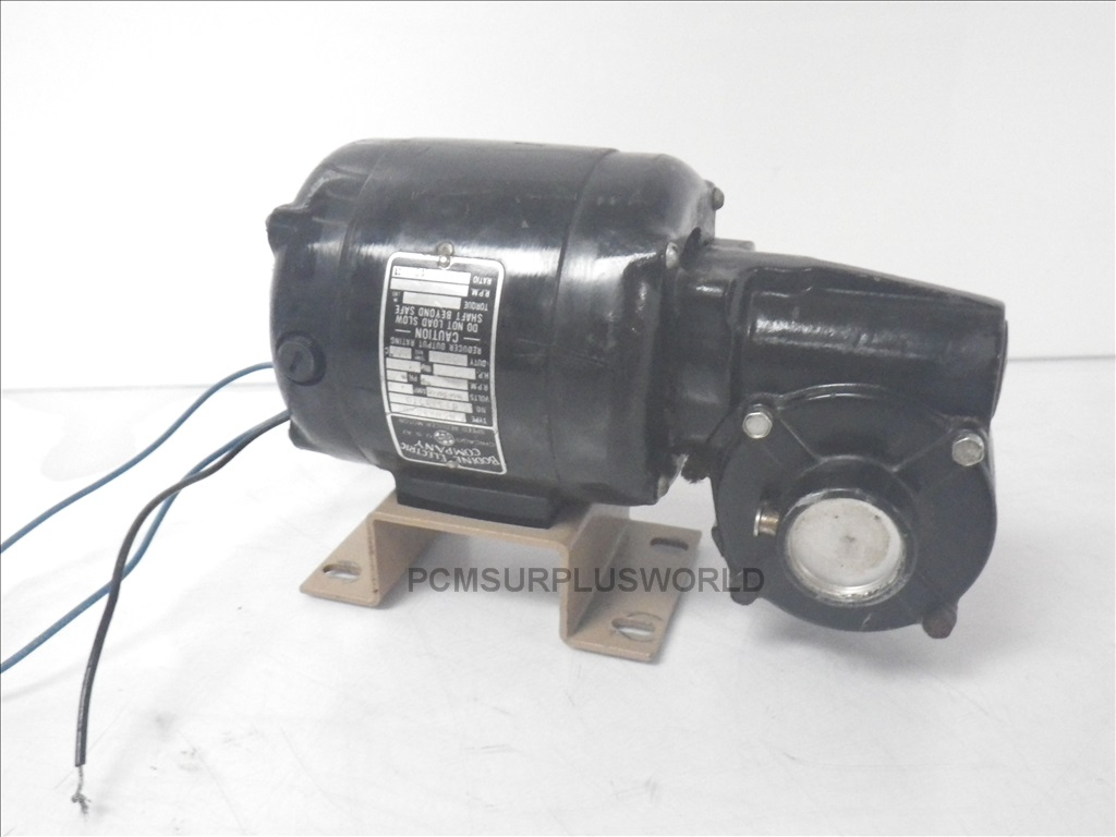 NSH34RH Bodine Electric Company speed reducer motor Used and