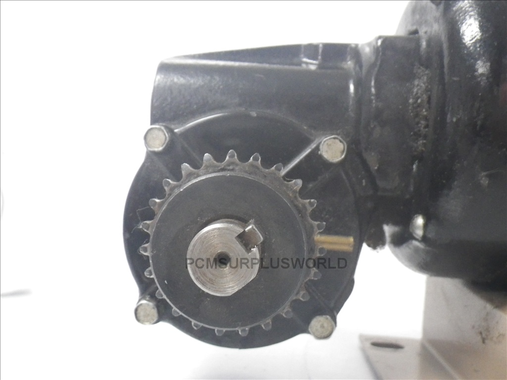 Nsh 34rh bodine electric company speed reducer motor used for Speed reducers for electric motors