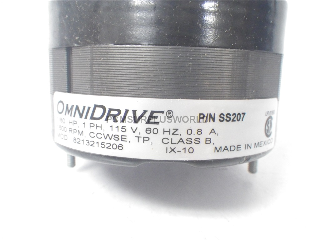 """SS207 OmniDrive shaded pole motor RPM1600 HP1//80 shaft 1//4 X 1.56 /"""" New in Box"""