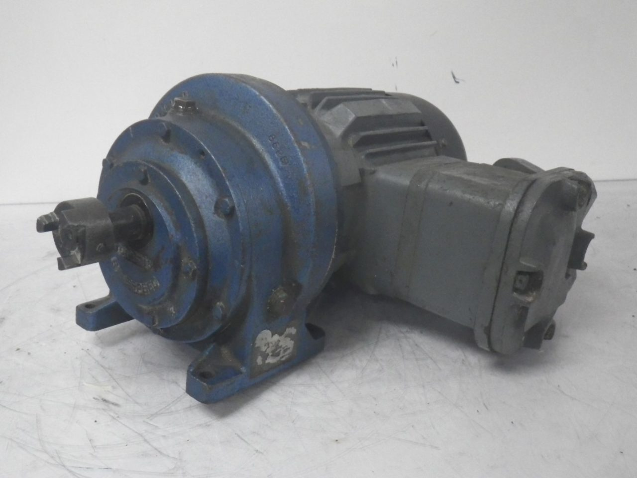 E168310 2535205-01 HAWKER SIDDELEY ELECTRIC MOTOR With Gearbox (Used Tested)