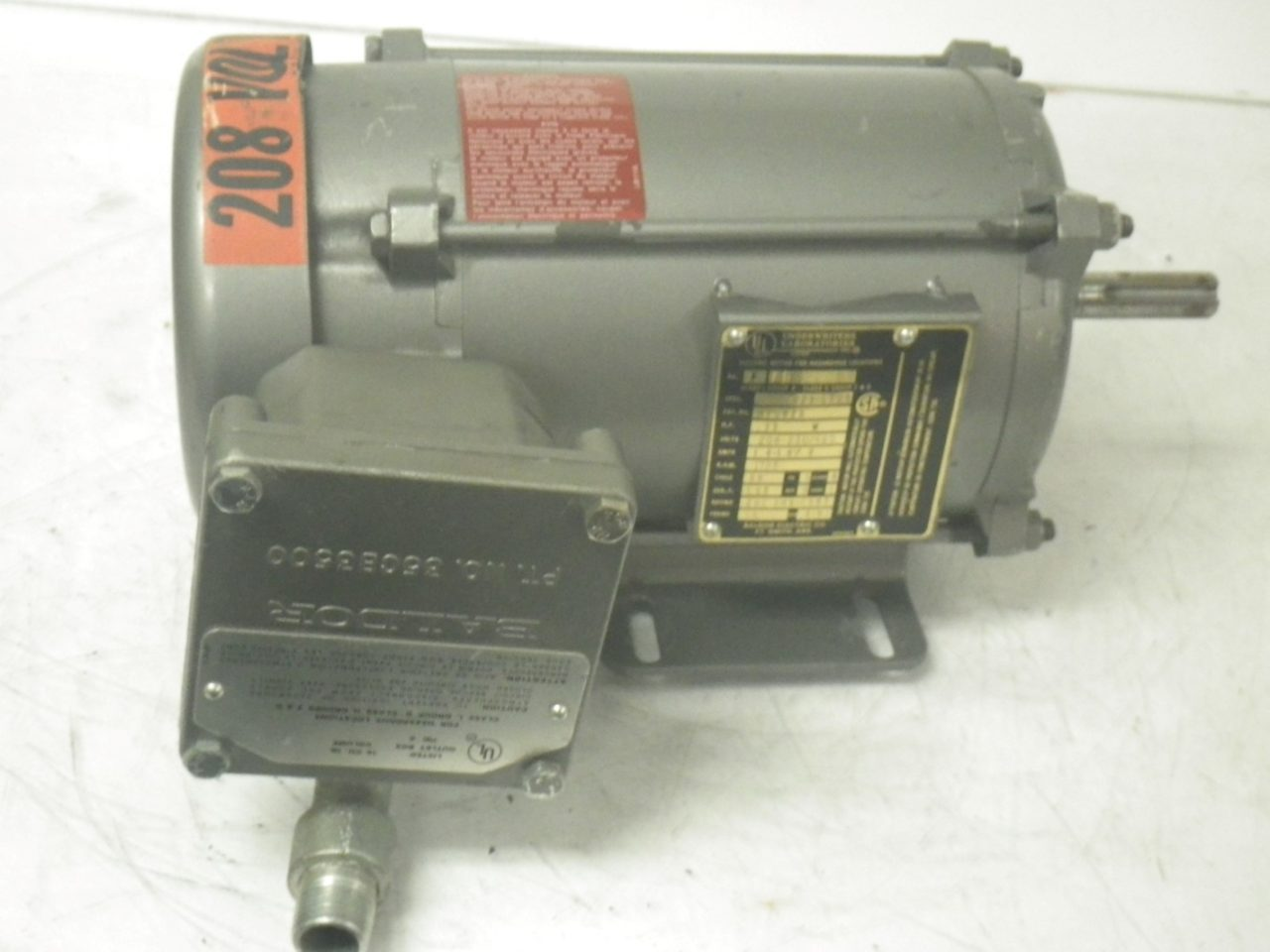 IMGP6484M7002A BALDOR Motor 13hp 208-230460v 1.8-1.60.8a 1725rpm 60cycle (1)