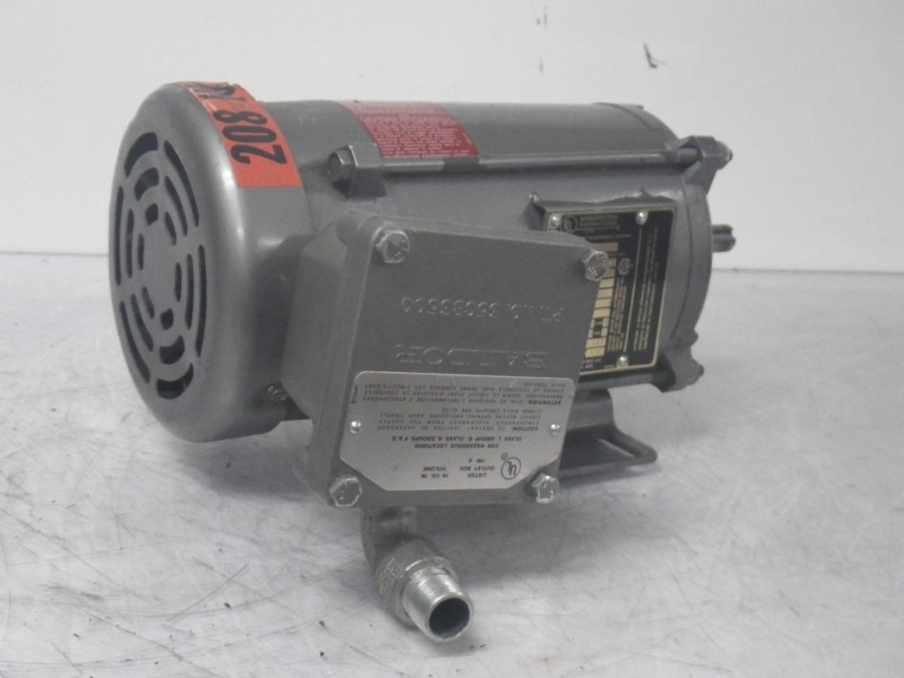 IMGP6484M7002A BALDOR Motor 13hp 208-230460v 1.8-1.60.8a 1725rpm 60cycle (7)