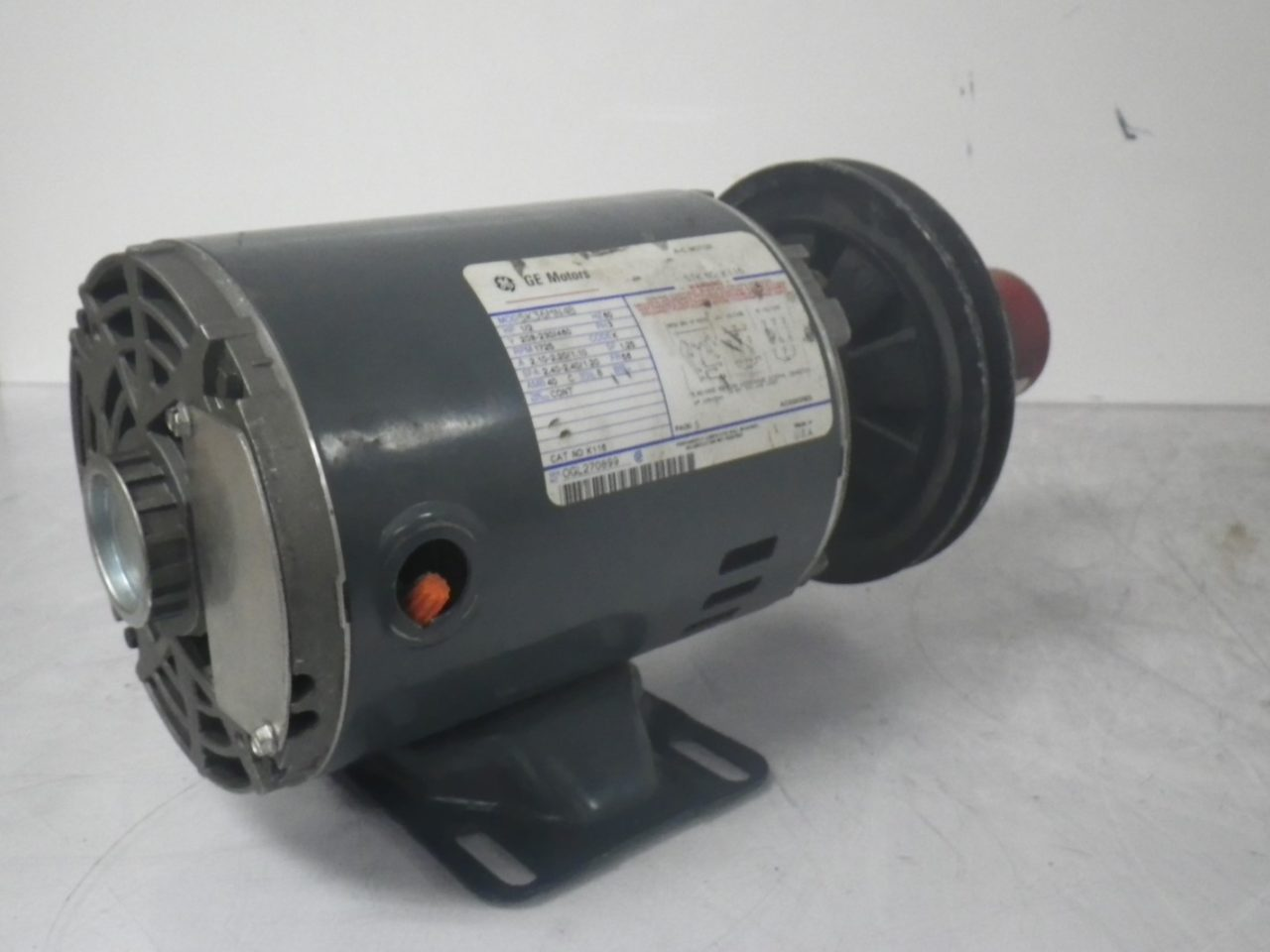 IMGP65595K36MN4B 160 58B GE Motor With LOVEJOY Pulley Type 160 58b 12hp 208-230460v 1725rpm (6)