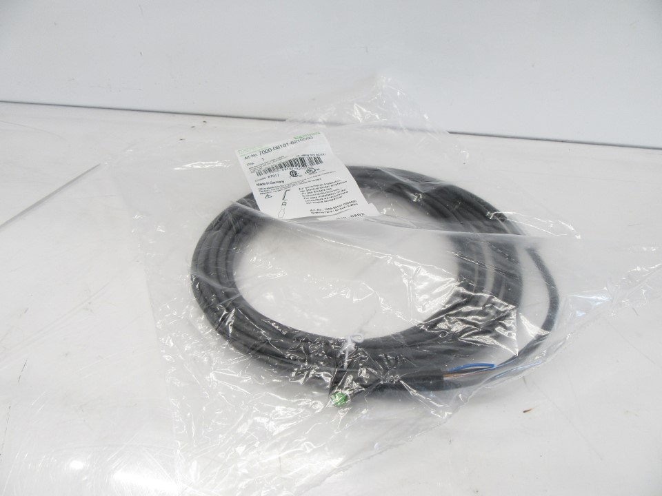7000-08101-6210500 7000081016210500 Murr Electronik Cable Sensor M8 90Deg (New Sealed) (1)