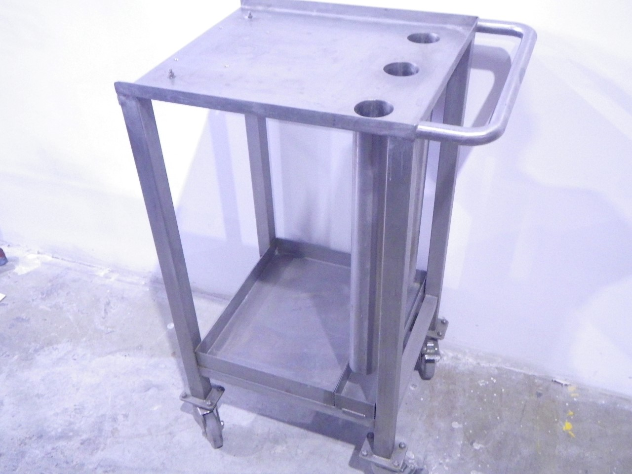 Custom stainless steel cart (3)
