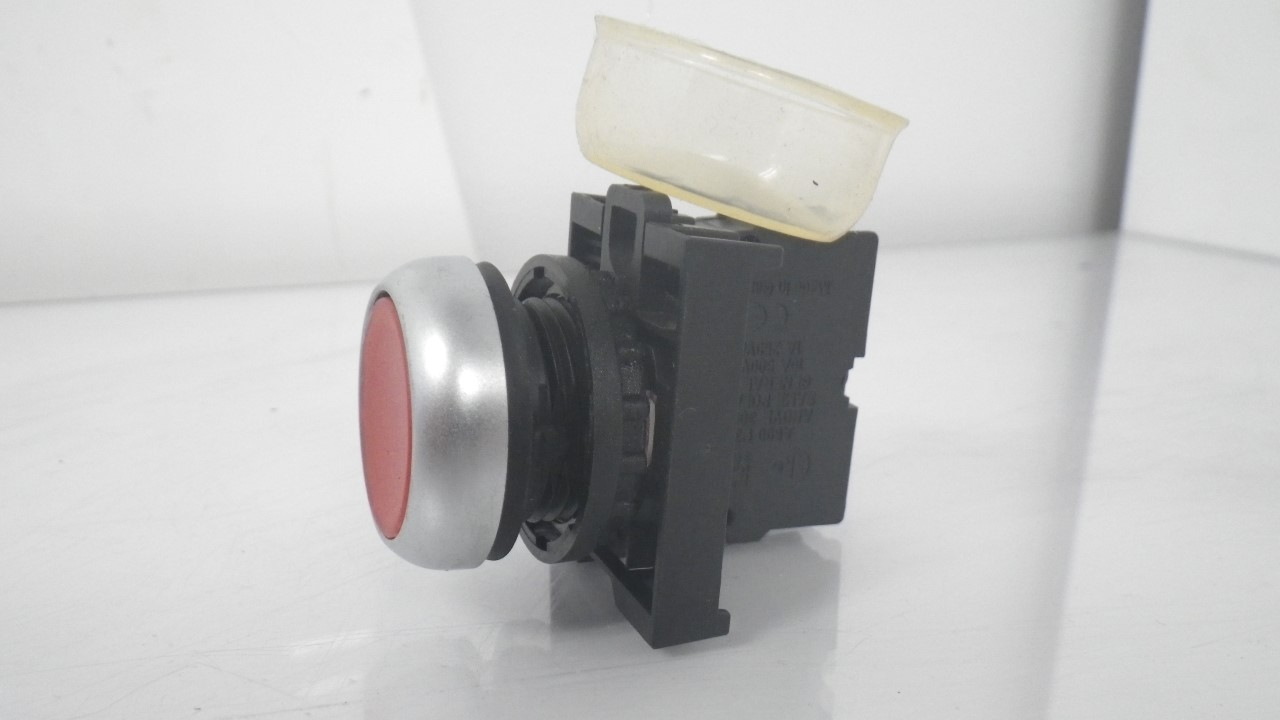 IMGP7283M22-K01Moeller Red Push Button Stop 10a 600vac 1a 250vdc (Used Tested) (14)
