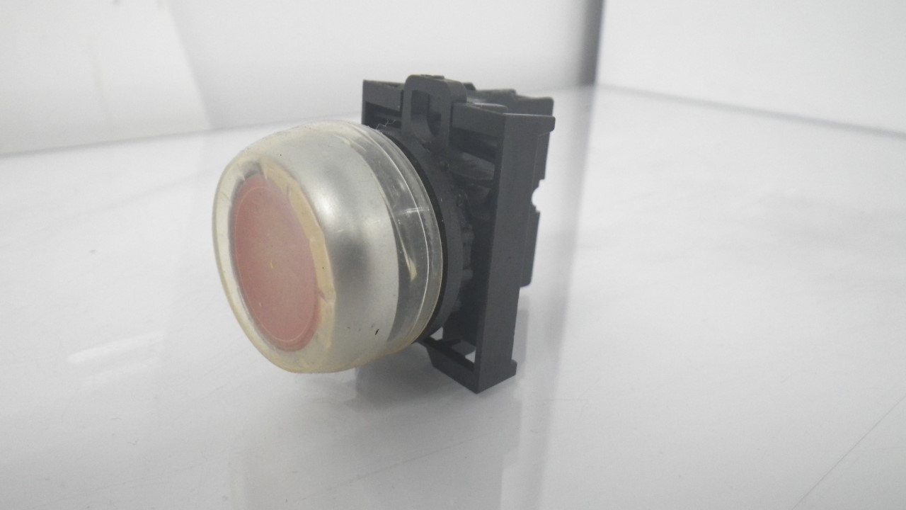 IMGP7283M22-K01Moeller Red Push Button Stop 10a 600vac 1a 250vdc (Used Tested) (6)