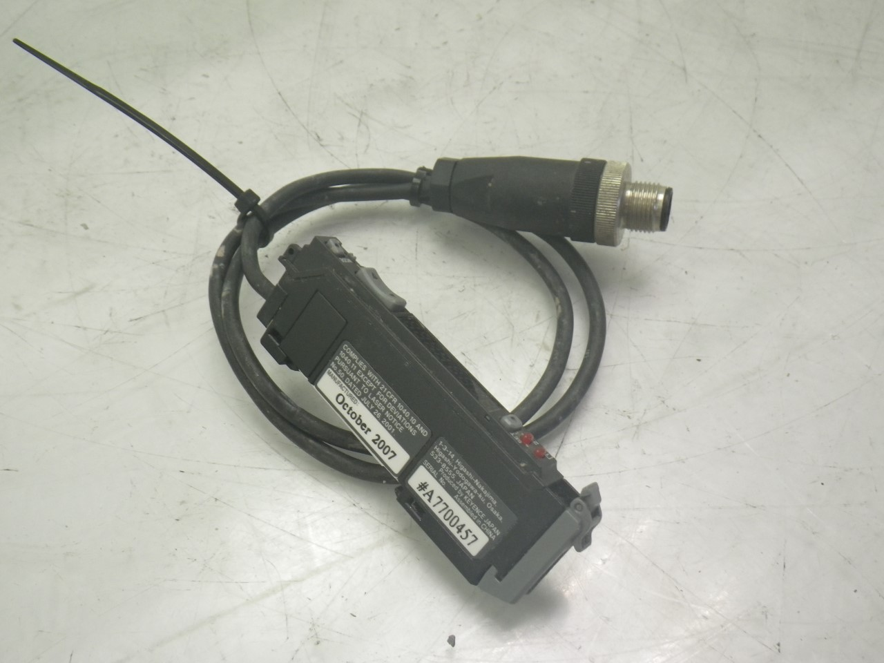 IMGP0487LV-11SAP Keyence Optical Fiber Digital Laser Sensor 12-24vdc (5)