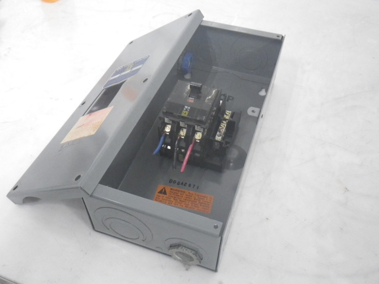 Q0403l60 Mj 867 Electric Box Breaker Enclosed Circuit Enclosure Imgp9557q0403l60