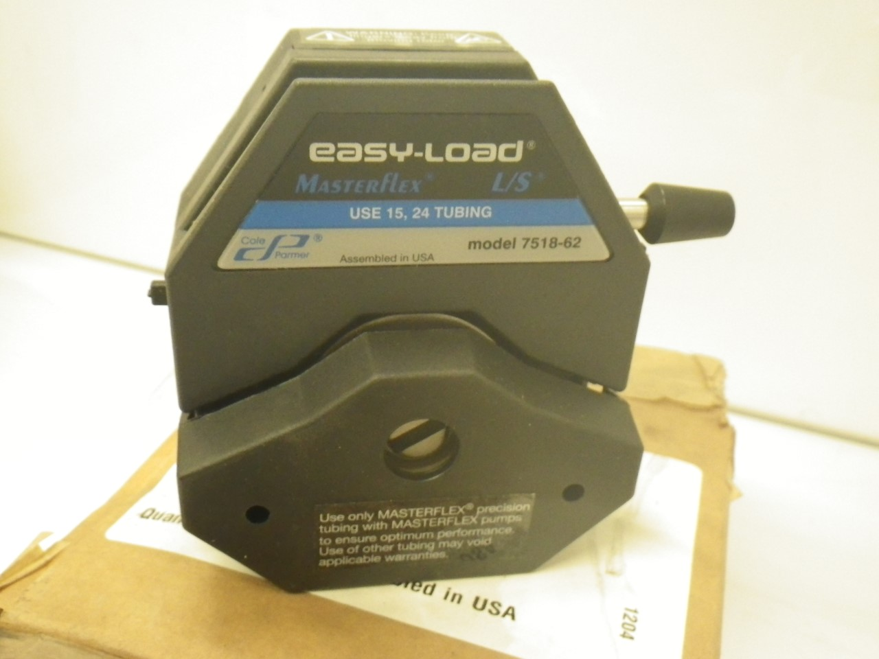 IMGP11207518-62 Cole Parmer Easy-load Masterflex Ls 7518-62 Pump Head (New with Box) (15)