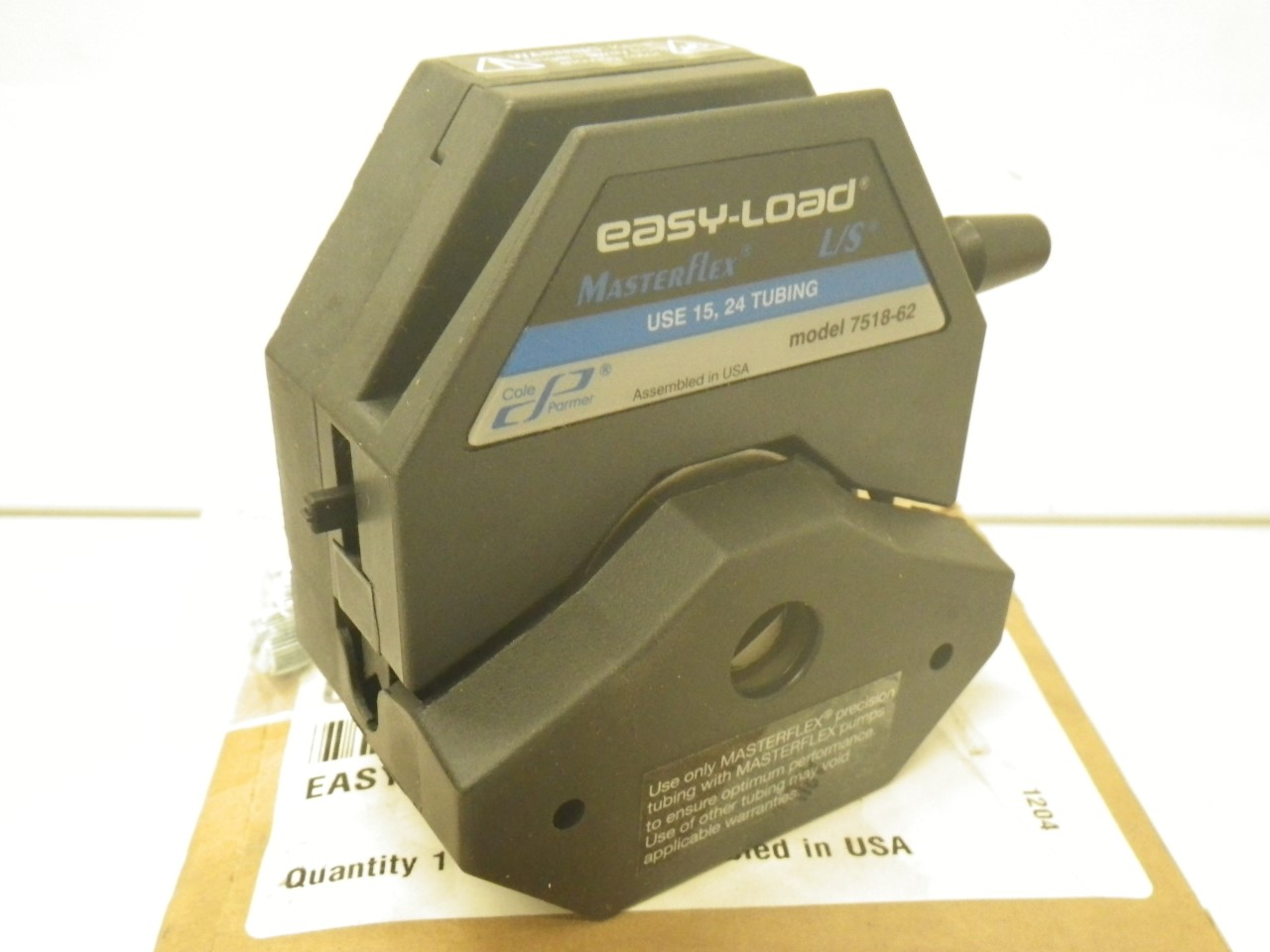 IMGP11207518-62 Cole Parmer Easy-load Masterflex Ls 7518-62 Pump Head (New with Box) (16)