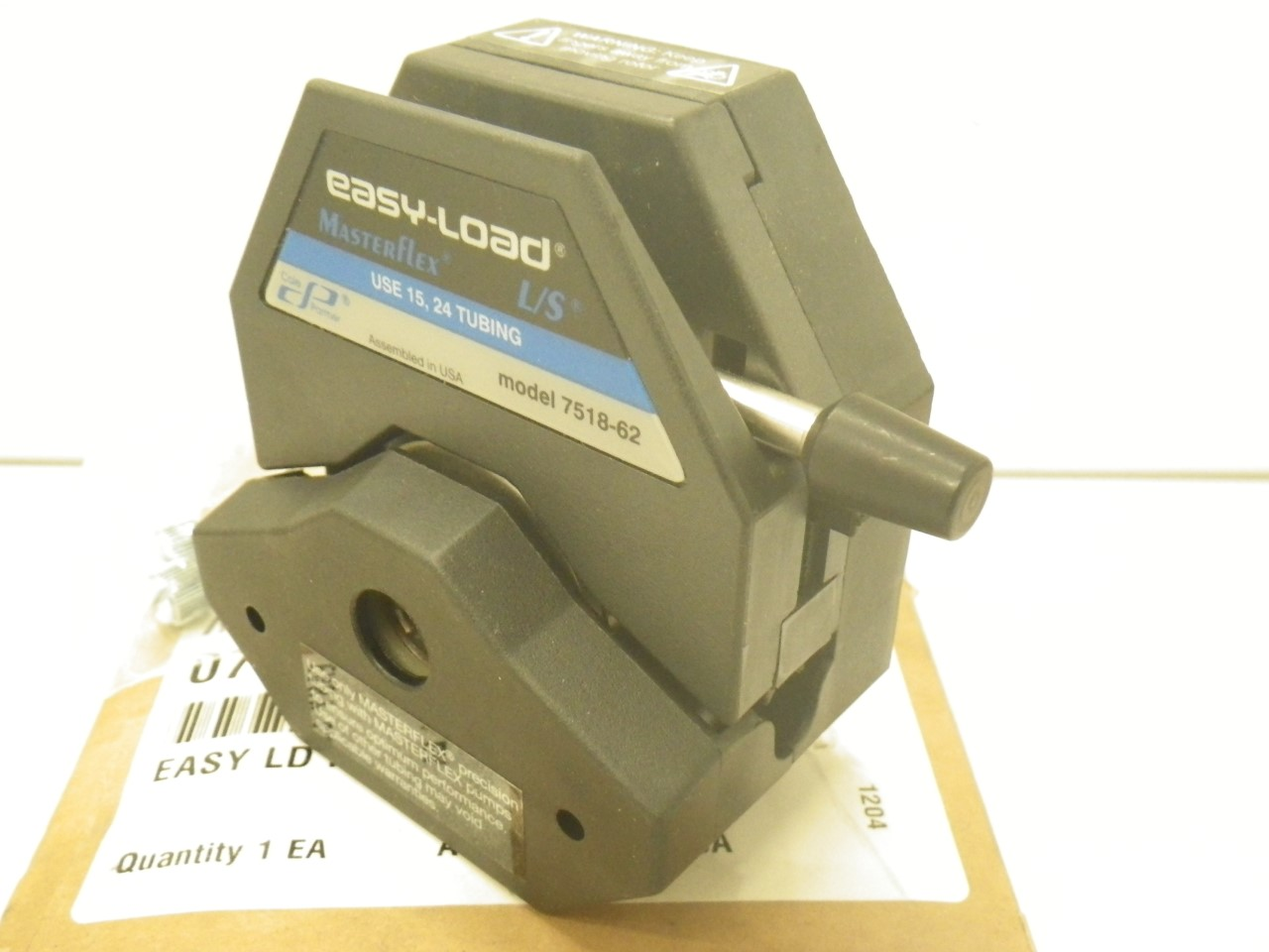 IMGP11207518-62 Cole Parmer Easy-load Masterflex Ls 7518-62 Pump Head (New with Box) (17)