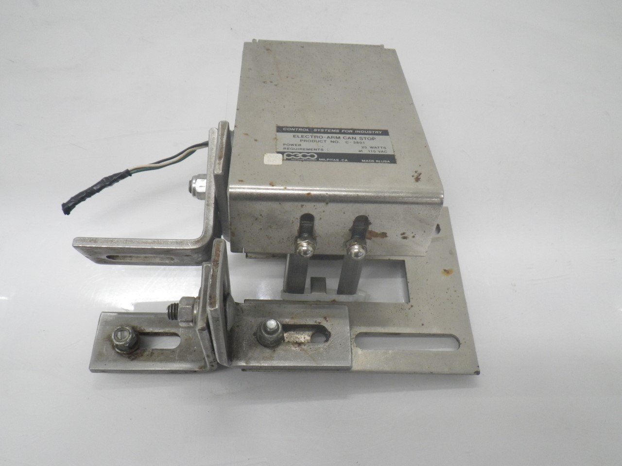 IMGP6937C-3801 C-3800A 3012Peco Electro-arm Controls forPackage Inspection(Used Tested) (2)
