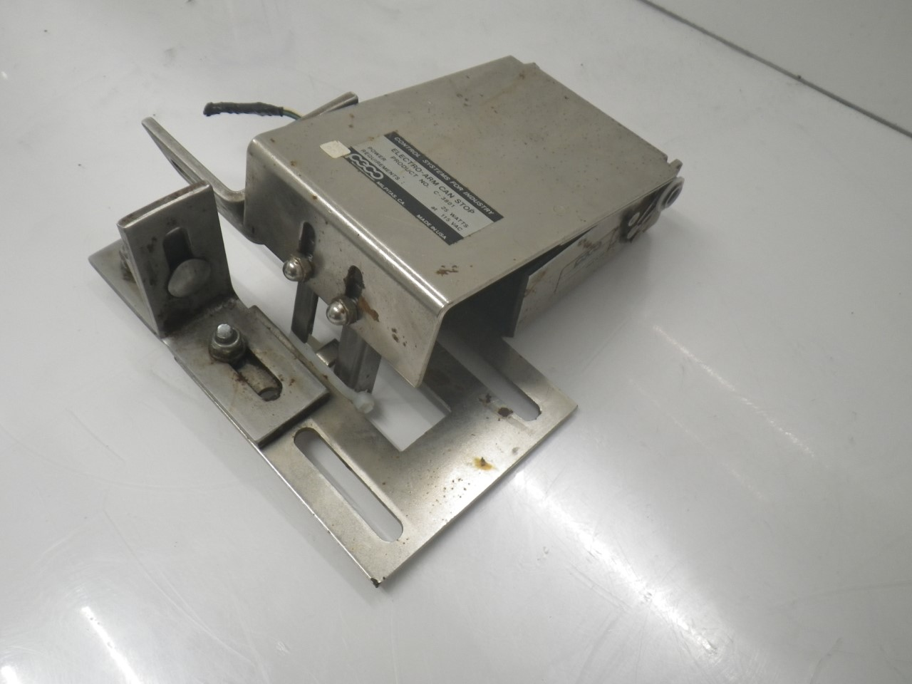 IMGP6937C-3801 C-3800A 3012Peco Electro-arm Controls forPackage Inspection(Used Tested) (4)