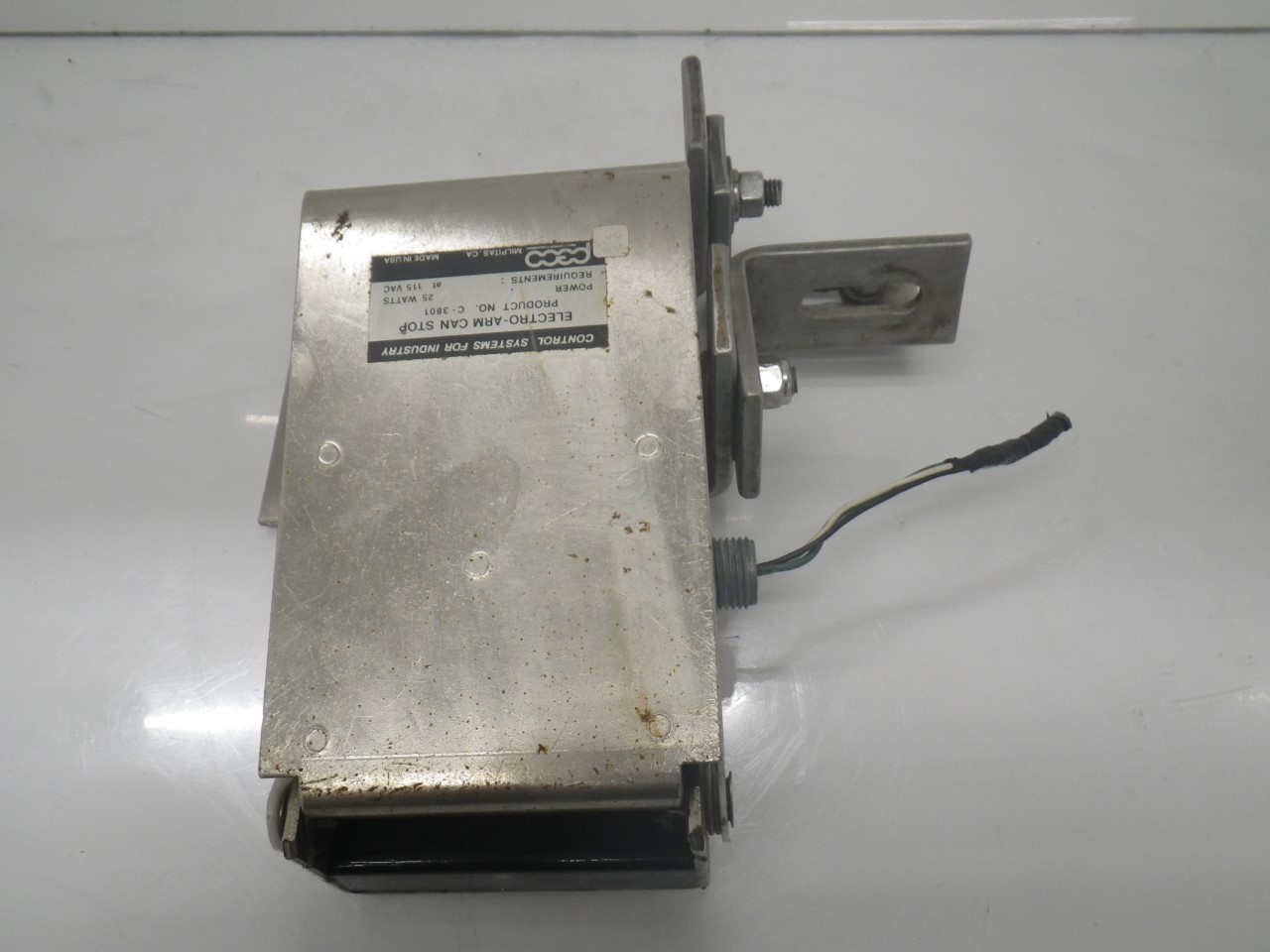 IMGP6937C-3801 C-3800A 3012Peco Electro-arm Controls forPackage Inspection(Used Tested) (6)