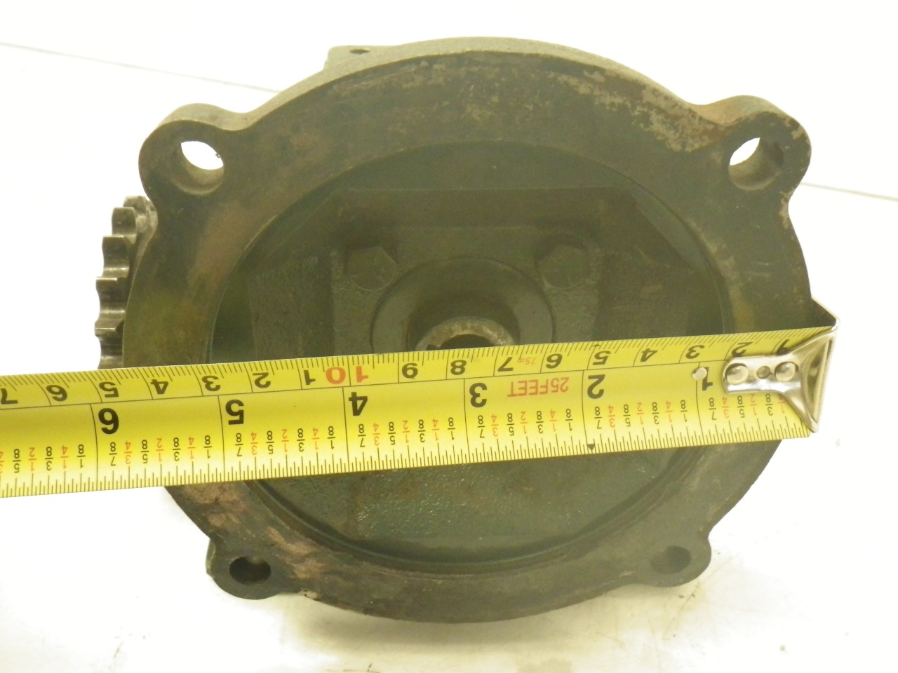 IMGP6972M01133-2 Flexaline GearBox 0.260 inhp, ratio140 motor frame56c (Used Tested) (11)