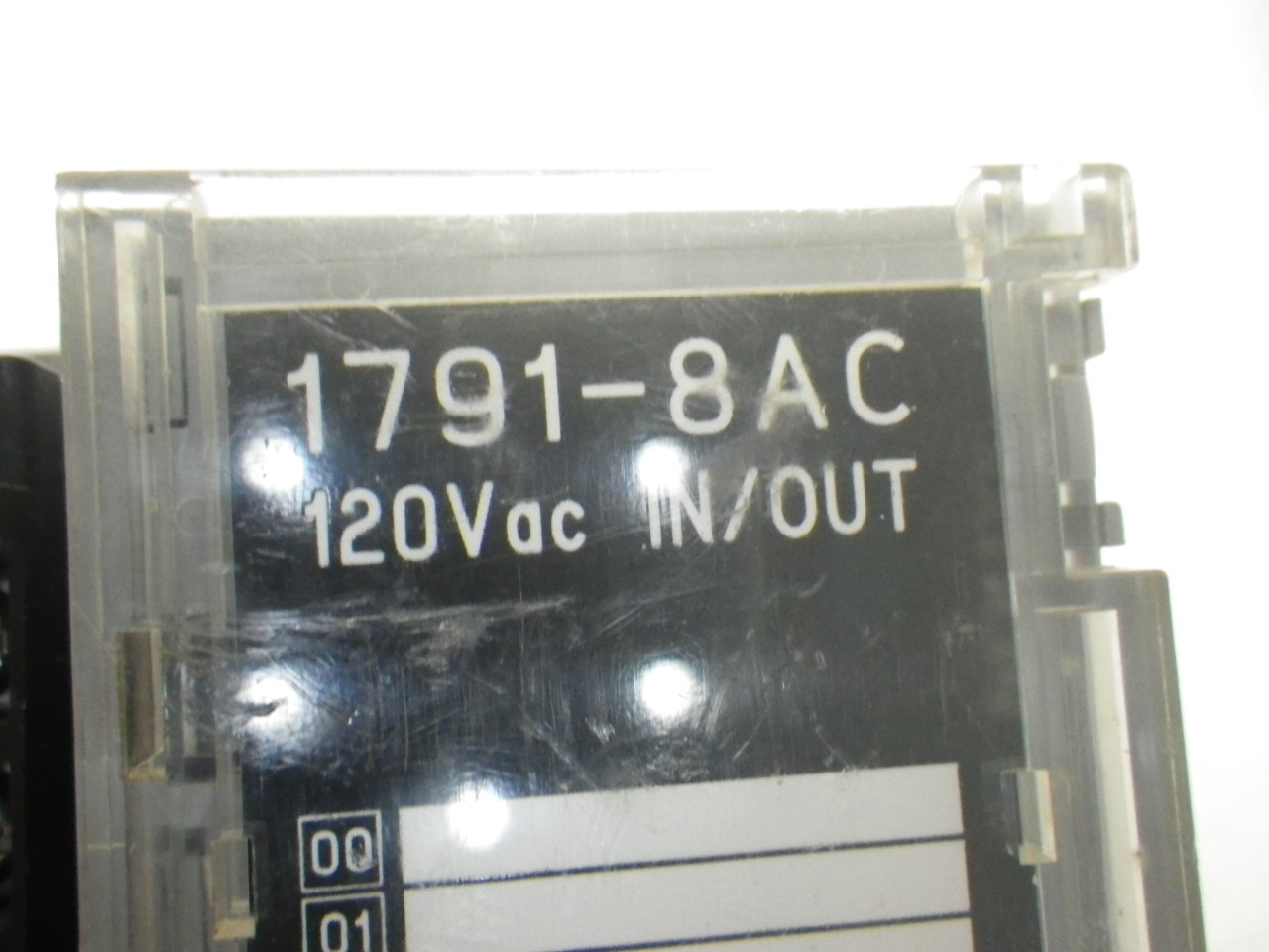 IMGP83251791-8AC Allen Bradley 1791-8ac Series b Block Io Module 120v (Used Tested) (10)