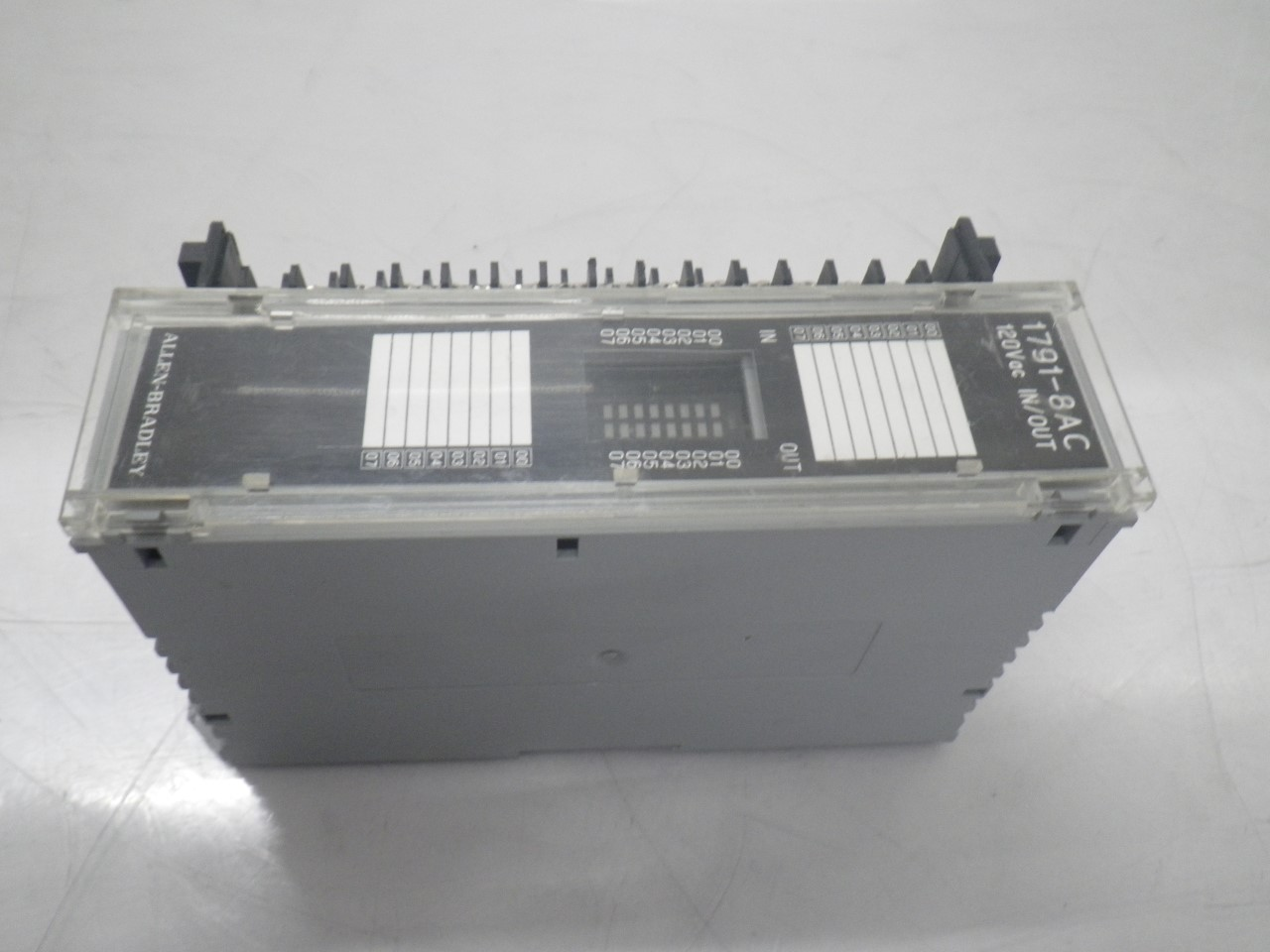 IMGP83251791-8AC Allen Bradley 1791-8ac Series b Block Io Module 120v (Used Tested) (6)