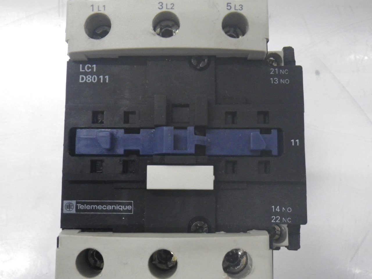 IMGP8343125A, 600V (12)LC1D8011 Telemecanique Contactor Magnetic Power Relay 125a, 600v (Used Tested)