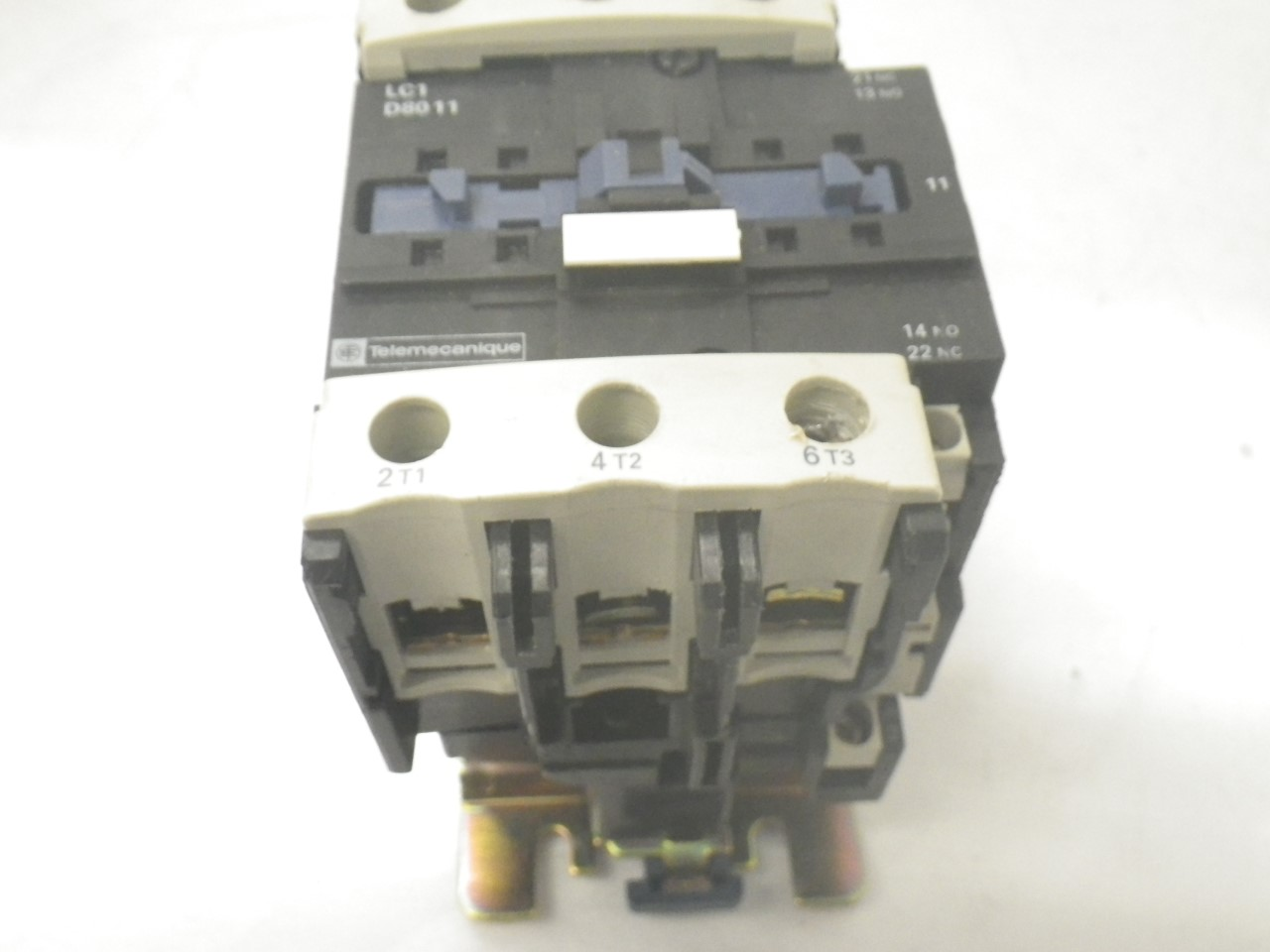 IMGP8343125A, 600V (14)LC1D8011 Telemecanique Contactor Magnetic Power Relay 125a, 600v (Used Tested)