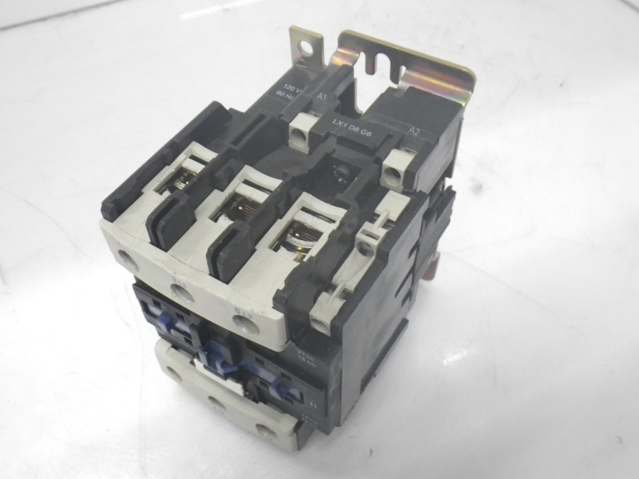 IMGP8343125A, 600V (18)LC1D8011 Telemecanique Contactor Magnetic Power Relay 125a, 600v (Used Tested)