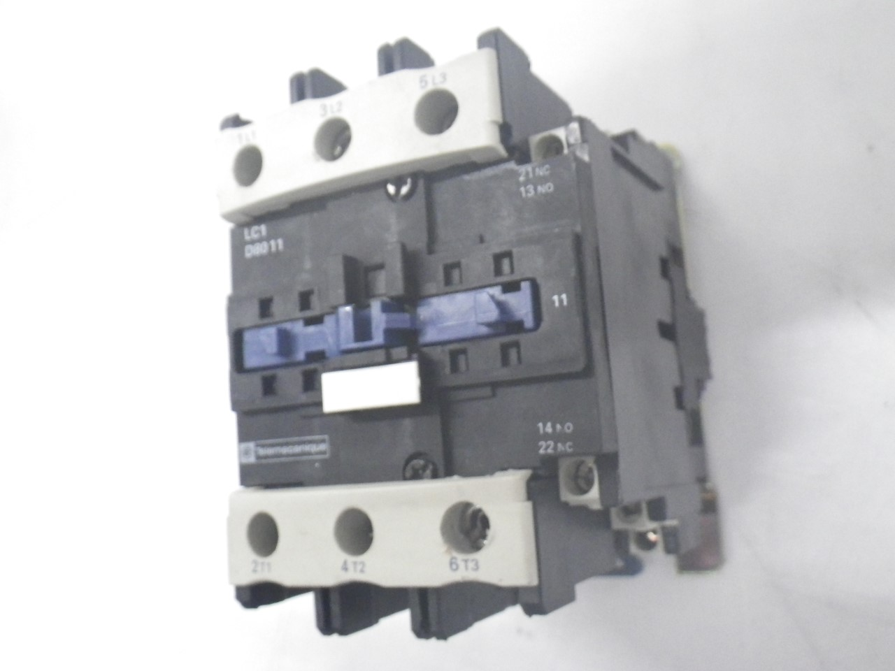 IMGP8343125A, 600V (21)LC1D8011 Telemecanique Contactor Magnetic Power Relay 125a, 600v (Used Tested)