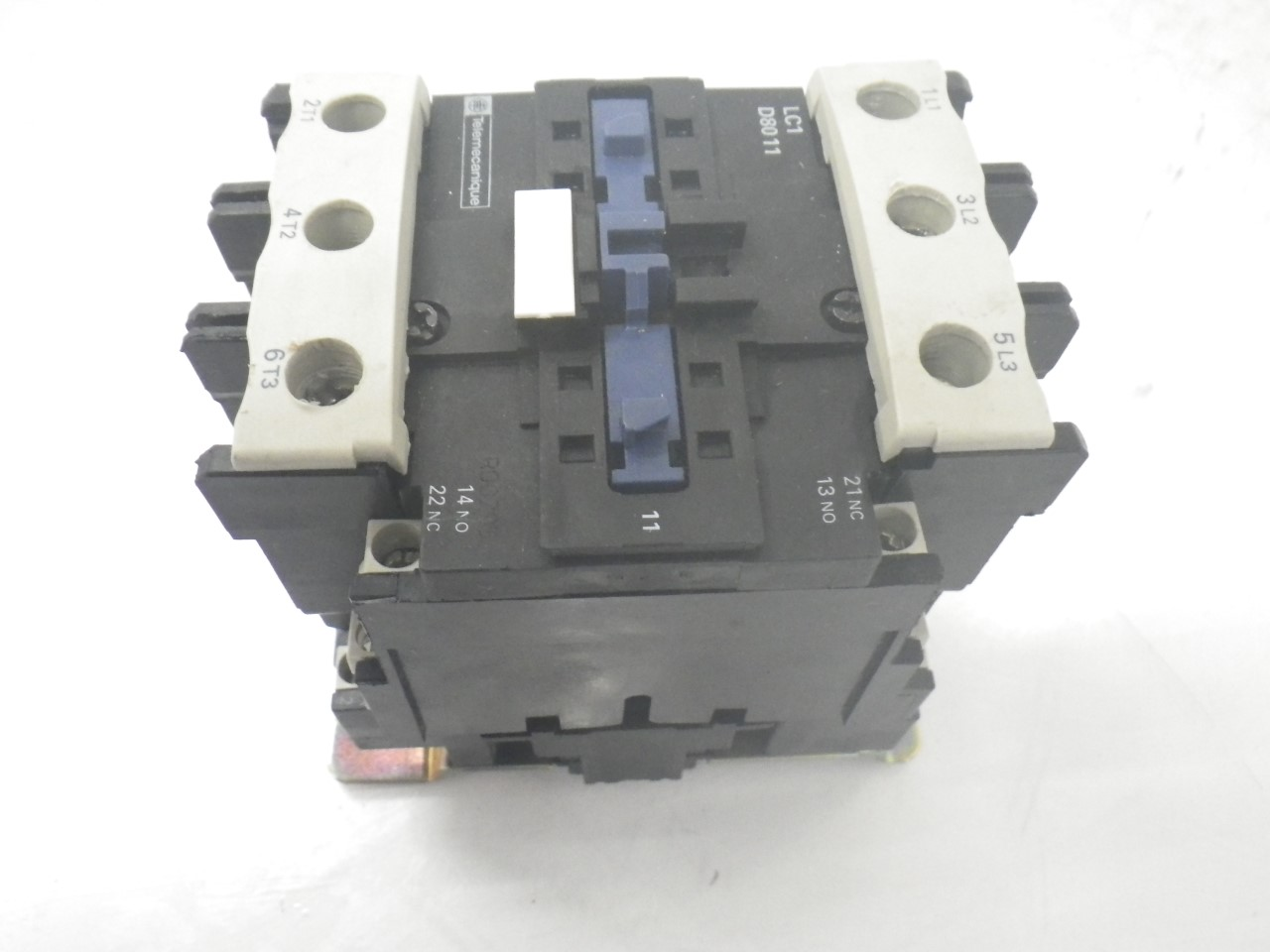 IMGP8343125A, 600V (3)LC1D8011 Telemecanique Contactor Magnetic Power Relay 125a, 600v (Used Tested)