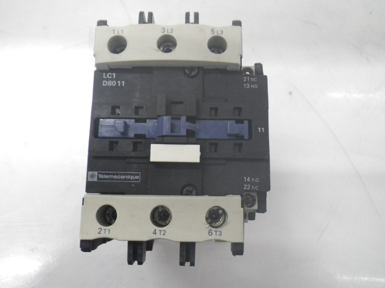 IMGP8343125A, 600V (9)LC1D8011 Telemecanique Contactor Magnetic Power Relay 125a, 600v (Used Tested)