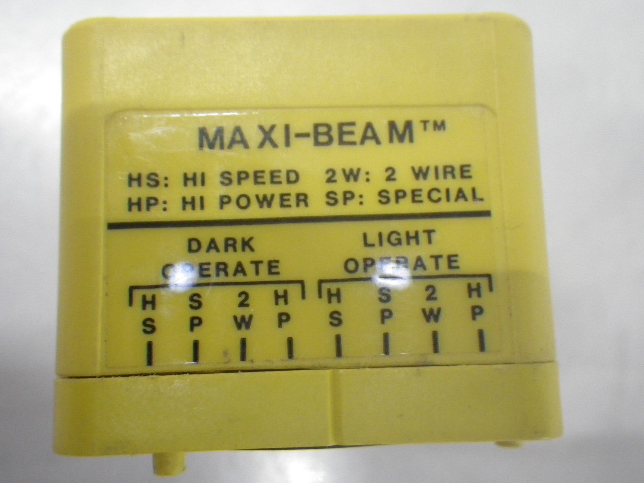 IMGP8411RSBD Banner Engineering Photoelectric Sensor Maxi-beam Diffuse(Used Tested) (8)