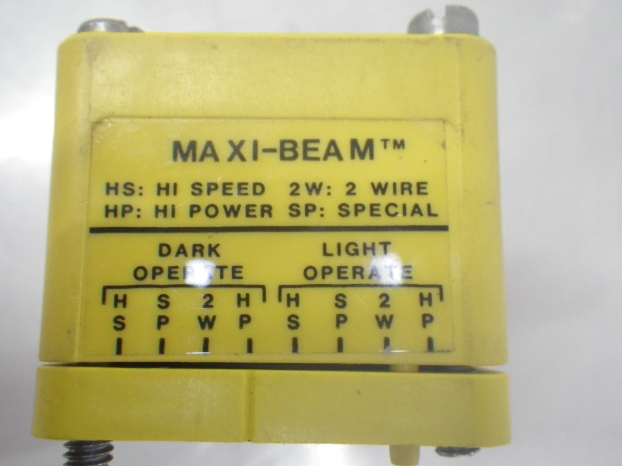 IMGP8425RSBF Banner Maxi-beam Photoelectric Sensor Head #9749A (Used Tested) (9)
