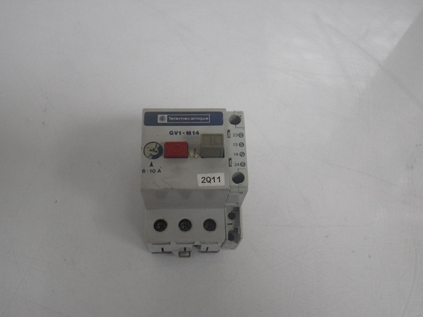 gv1 m14 gv1m14 breaker rh pcmsurplusworld com Telemecanique Magnetic Motor Starter Telemecanique Starters Combination