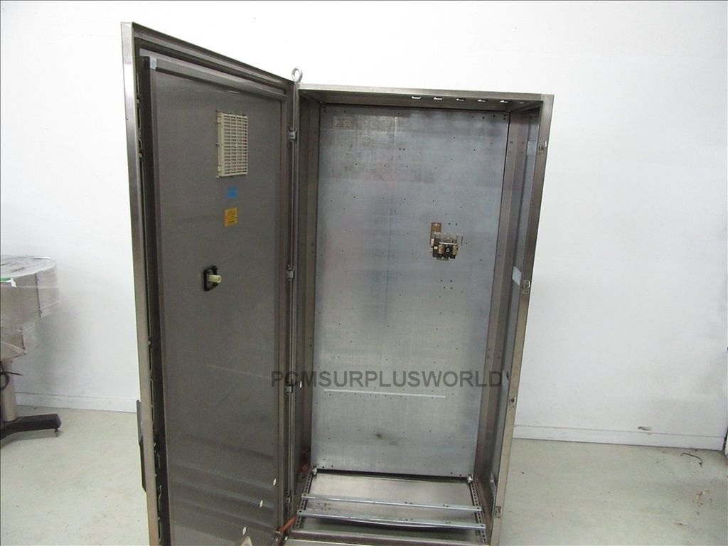 Stainless Steel Electrical Enclosure Box Control Panel Cabinet 39'' on