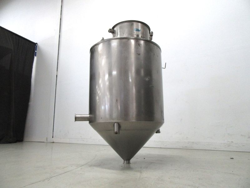 Reservoir Hopper Container Stainless Steel Cone Bottom