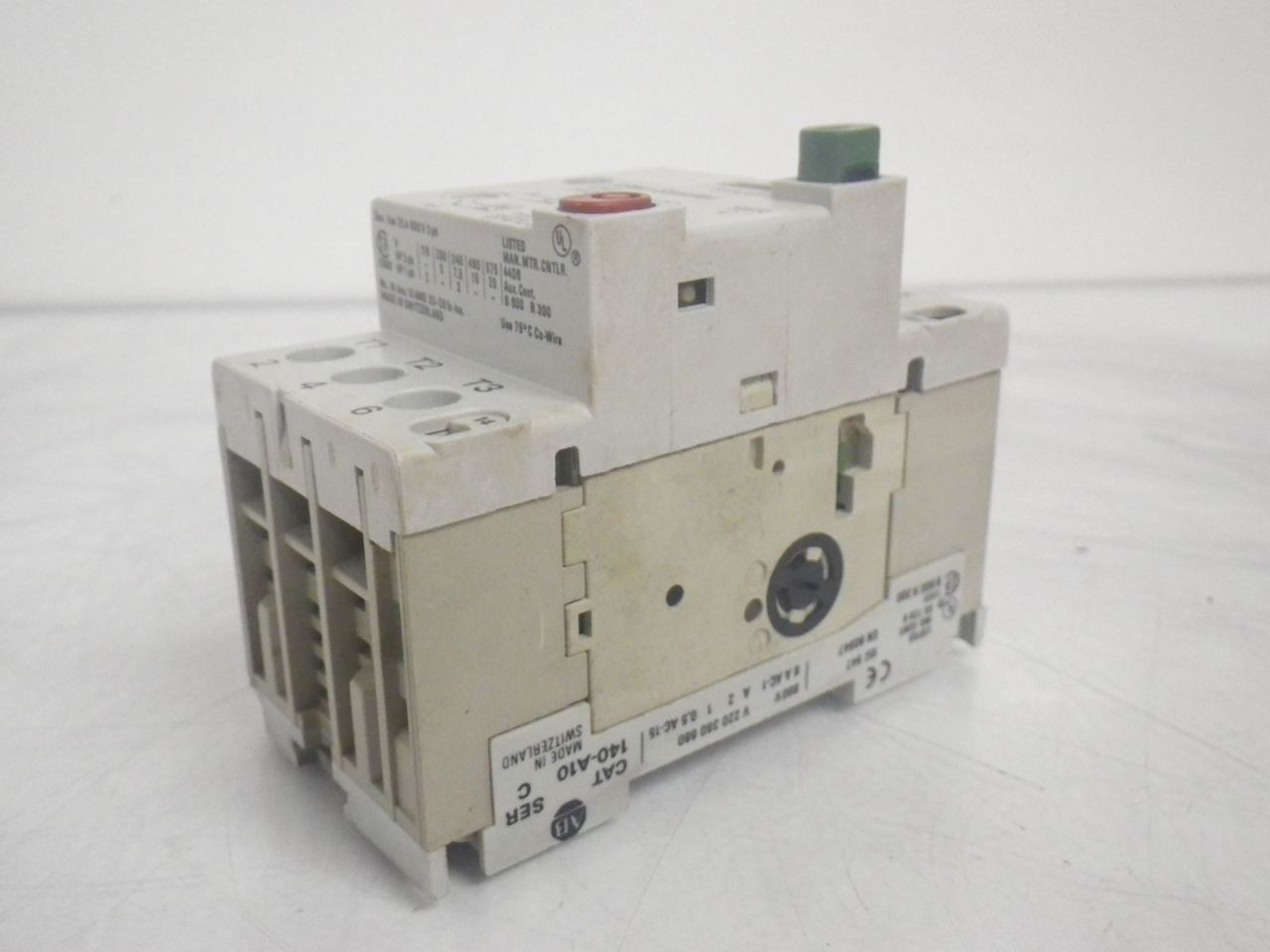 Allen Bradley 140 Mn 0630 140mn0630 Ser C Manual Motor Starter Used And Tested Other