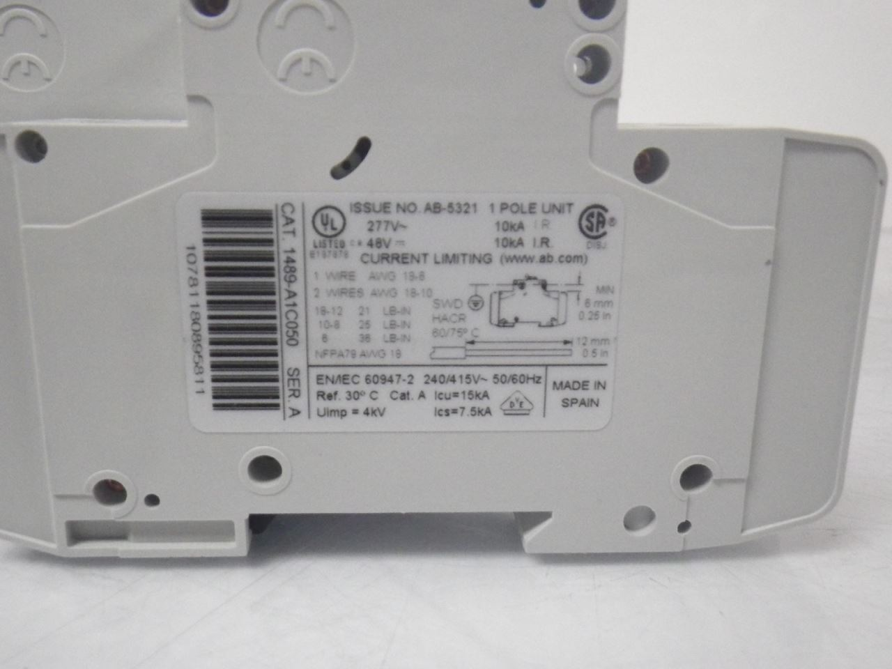 ALLEN-BRADLEY-1489-A1C050-1489A1C050-5A-SET-OF-